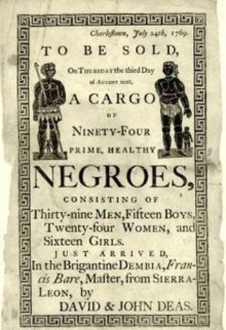 Slave Trade in the New World