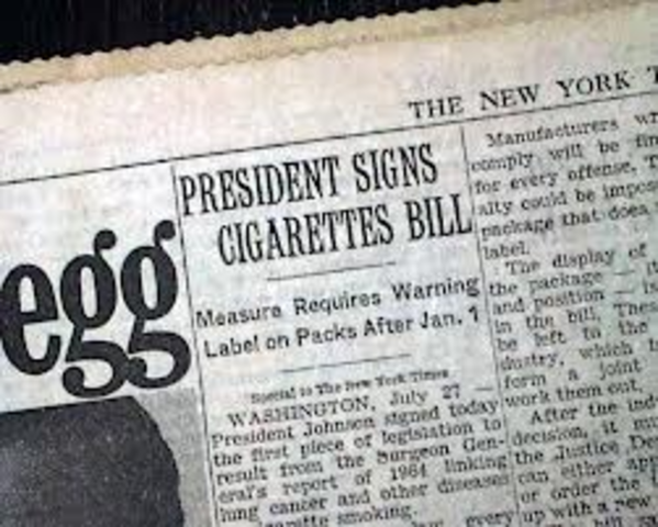 Federal Cigarette Labeling and Advertising Act