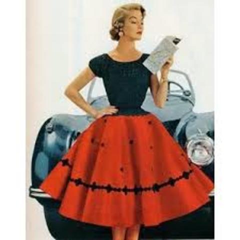 1950 fashion style