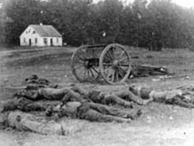 magruder opened fire on Federals