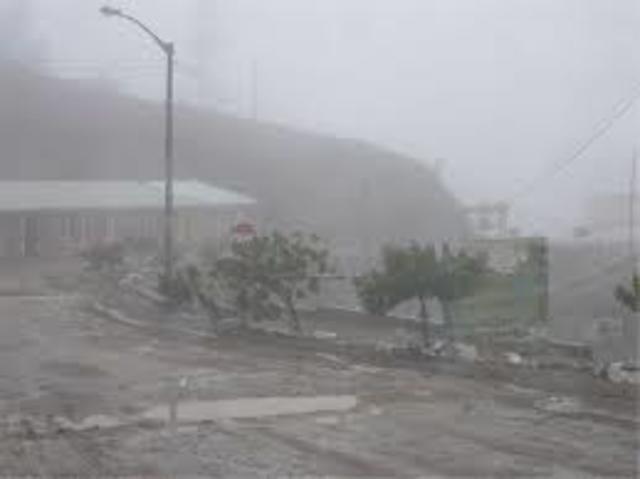 altas presipitaciones