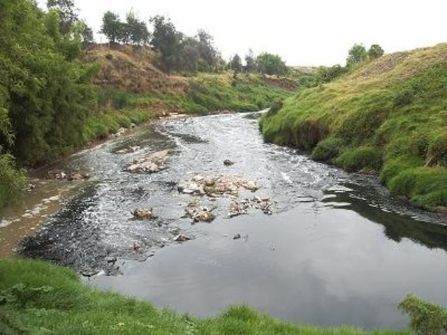 El acuenducto nuevo, contrucciones en la cuenca alta del rio tunjuelo.
