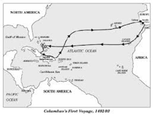 first voyage of columbus