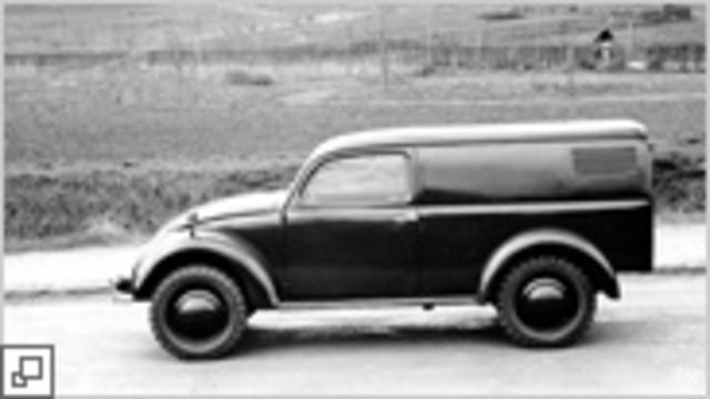 VW-Kübelwagen (bucket car)