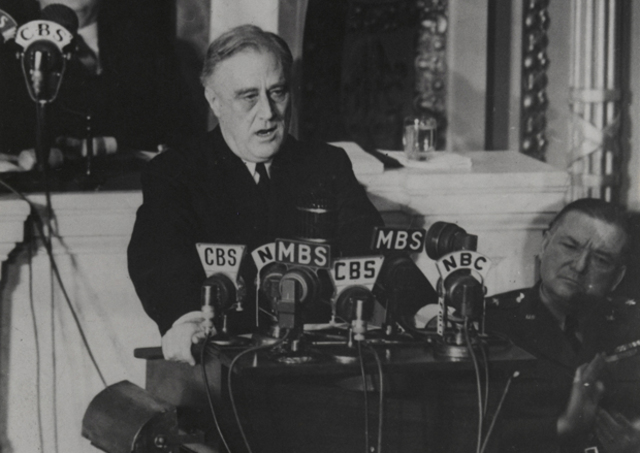 "President Franklin D. Roosevelt's ""Four Freedoms"" Speech"
