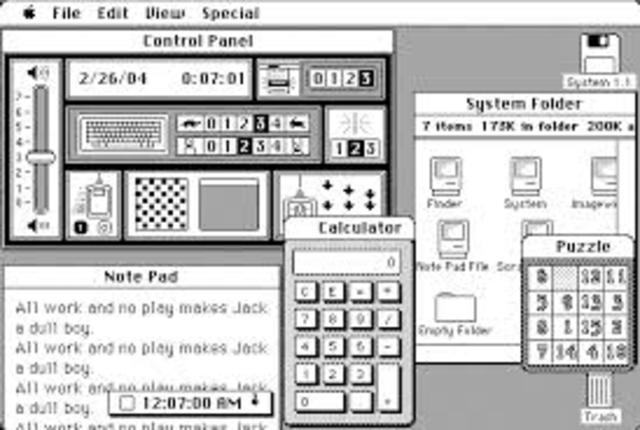 Sistema 1 (Mac) 1984