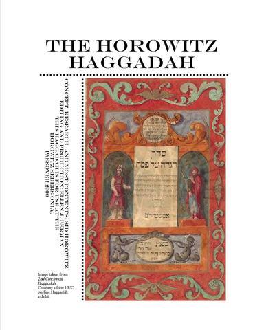 Desktop Published the Horowitz Family Haggadah