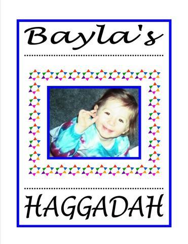 Haggadah I Wrote for my Godchild