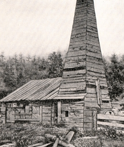 The FIrst Oil Well in Pennslyvania