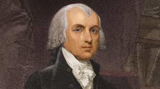 Madison elected as president