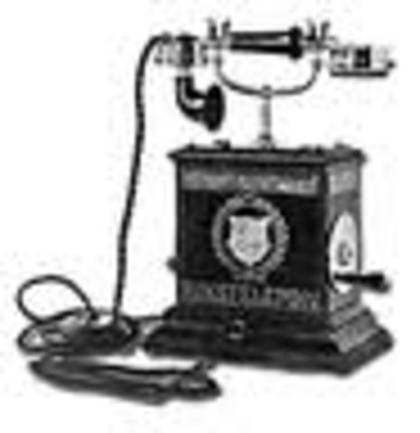First telephone on White House