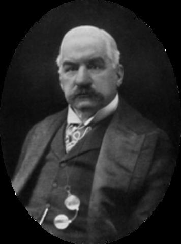 J.P. Morgan forms U.S. Steel