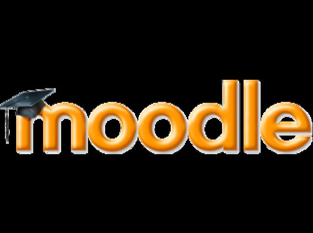 Moodle.