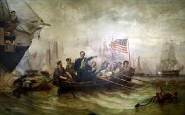 Battle at Lake Erie 1813