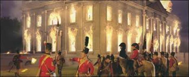 British burn Washington DC