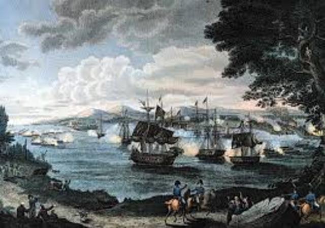 Battle at Lake Champlain 1814