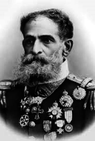 Começo do Governo do Marechal Deodoro da Fonseca