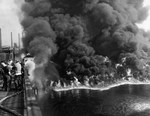 Cuyahoga River Fire