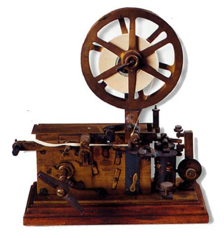 La enseñanza por correspondencia- el telegrafo