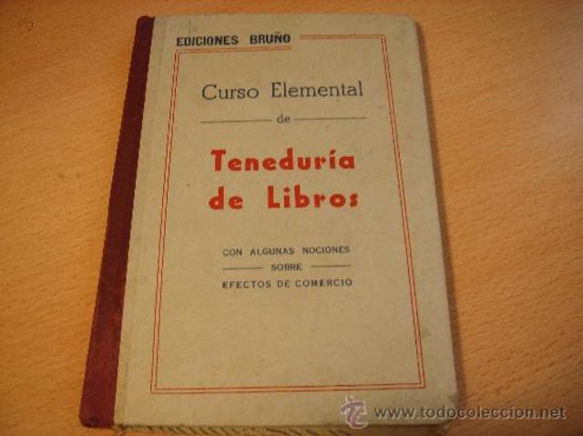 Primer curso por correspondencia de teneduria de libros.