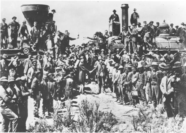 Transcontinental Railroad.