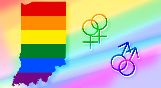 Gay rights in Indiana