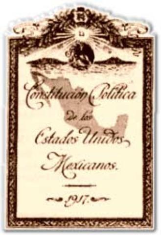 CONTITUCION POLITA MEXICANA 1917