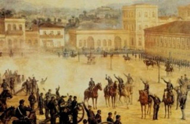 Início da Primeira República