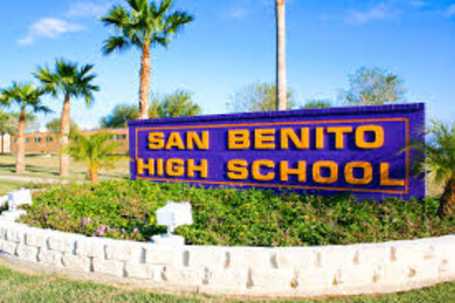 ingreso a san benito high school