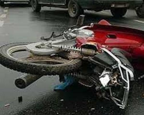 fui atropellado en la moto