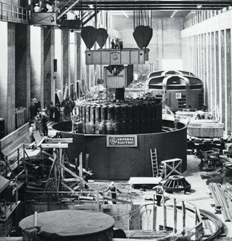 the first generator at hoover dam