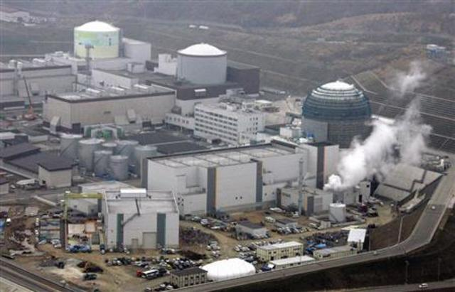 nuclear power plant power entire town