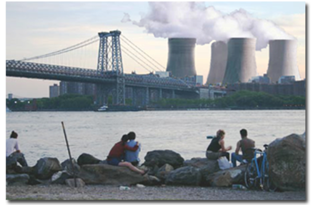 New York draws power from nuclear power plant