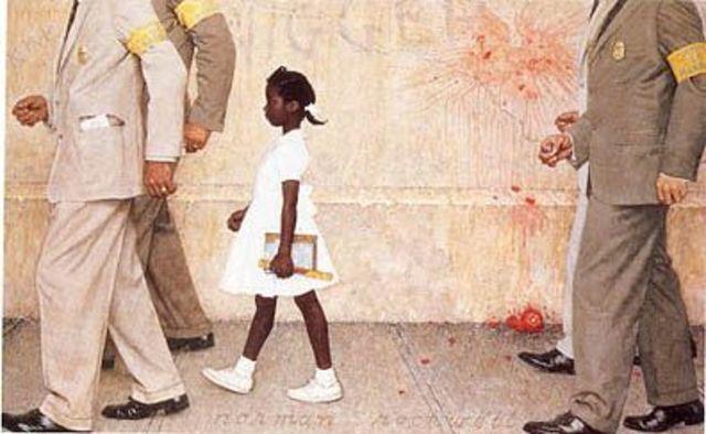 Ruby Bridges' First Day of School