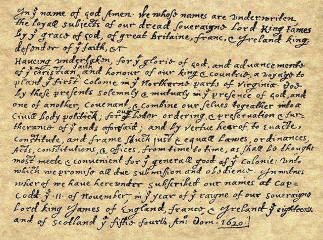 Mayflower Compact (part 2 & citations)