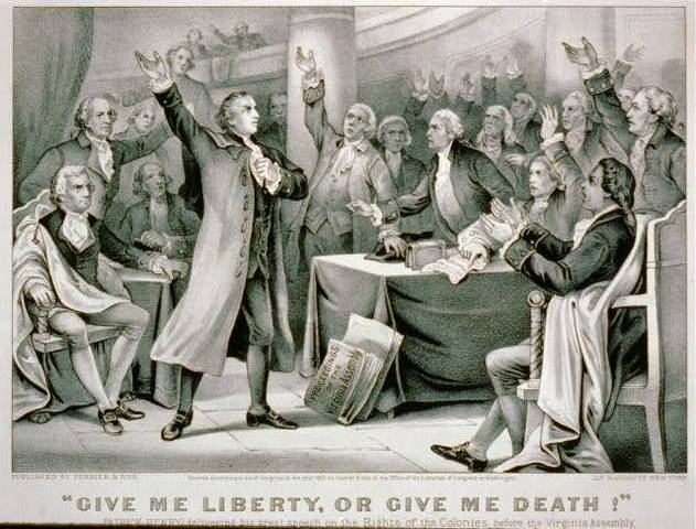 Patrick Henry's Speech to the Virginia Convention (part 2 & citations)