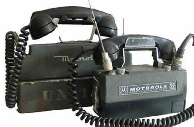 Inicio de la telefonía movil