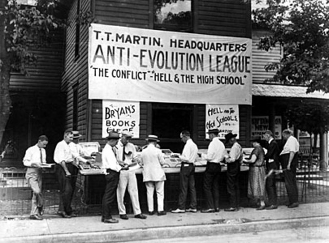 The State of Tennessee v. John Thomas Scopes (Scopes Monkey Trial)