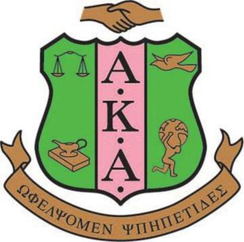 FIRST SORORITY ESTABLISHED BY AFRICAN-AMERICANS