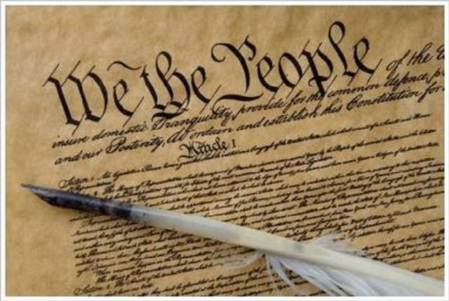 Constitution is signed