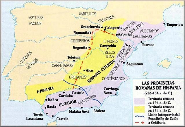 218 a. C. - Conquista romana de Hispania