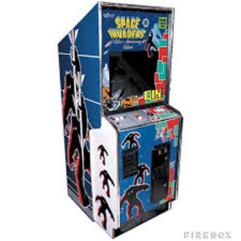 Space Invaders Arcade Cabnit