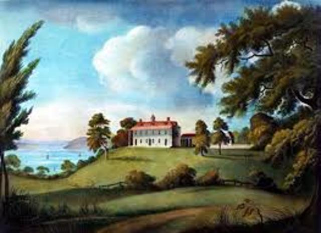 Meeting of the Mount Vernon Conference