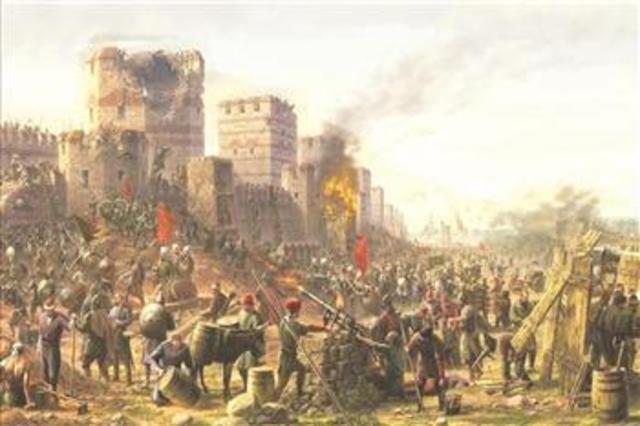 Ottomans conquer Constaniople