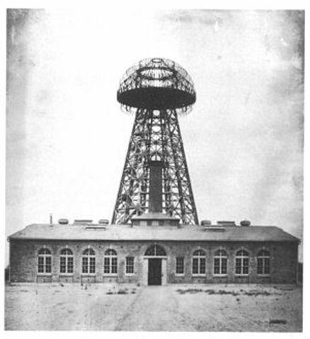 Tesla Starts building radio facility
