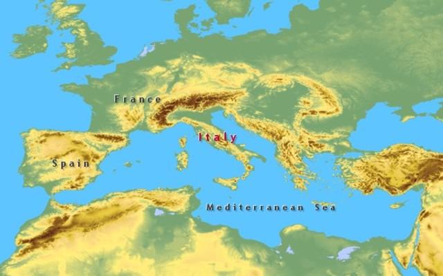 Atomic Dumping in Mediterranean