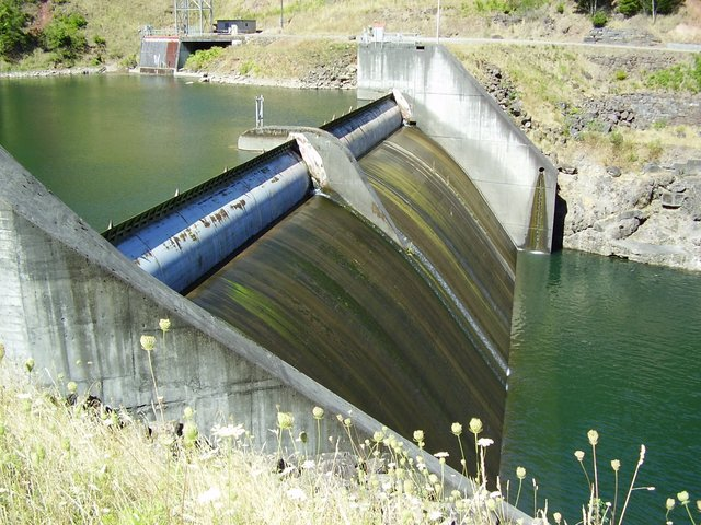 Aswan High Dam Floodgates