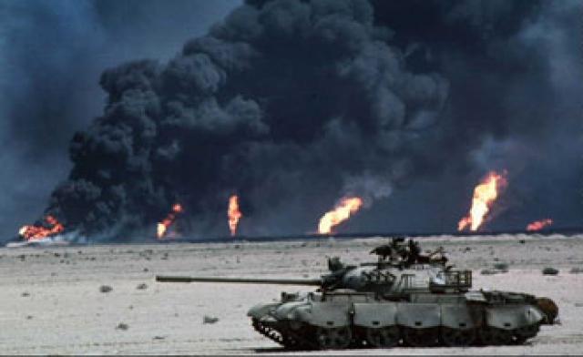 War in Kuwait and Iraq