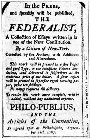 Federalist Paper No. 51