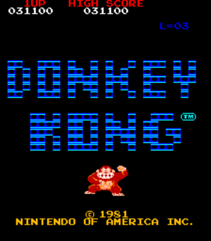 The Donkey Kong Arcade Cabinent, and Years of Fame to Follow